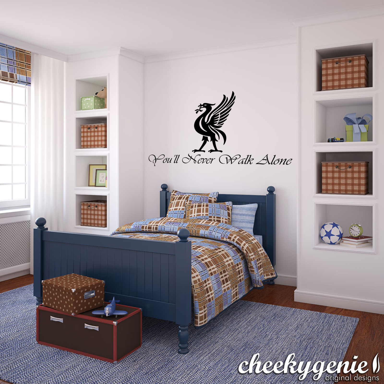 Liverpool Bedroom Accessories Liverpool Fc Football Mural Vinyl Wall Art 034you039ll Never