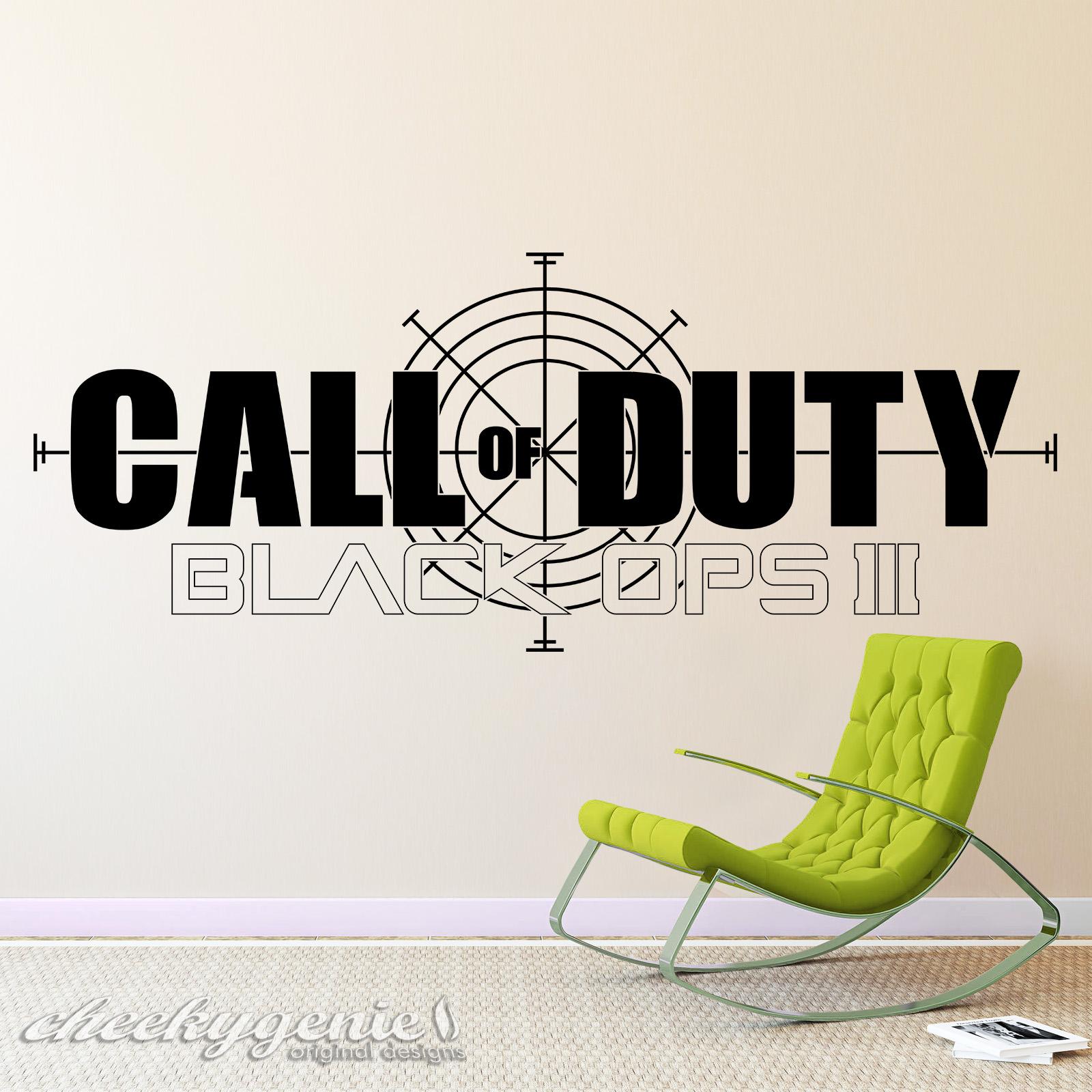 Call Of Duty   Black Ops III Gaming Vinyl Wall Art