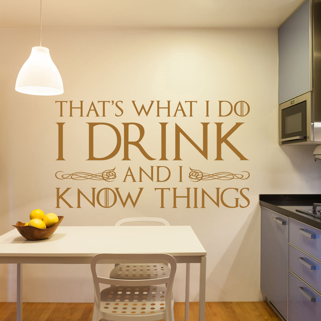 Tyrion Lannister Game of Thrones I Drink Wine & I Know Things Vinyl ...
